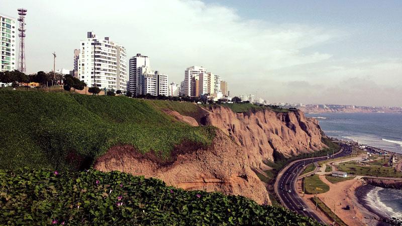 Miraflores i Lima, Peru