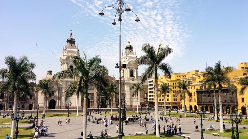 Plaza de Armas i Lima, Peru